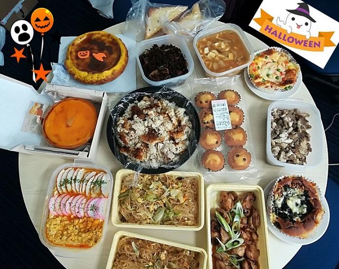 halloween potluck lunch party 大阪大学 thp 斗内研究室